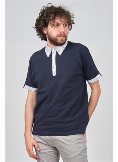 Arslanlı Arslanlı Erkek Polo Yaka T-Shirt  Lacivert